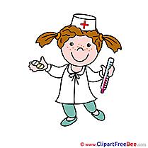 Nurse download printable Illustrations