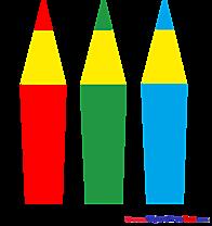 Pencils download printable Illustrations