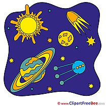Planets Cosmos Pics free Illustration