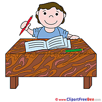 Pupil Lesson Clipart free Illustrations