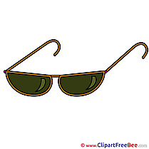 Sunglasses printable Illustrations for free