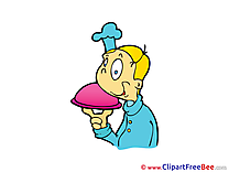Waiter free Cliparts for download