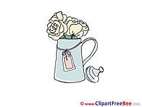 Watering Can Clipart free Illustrations