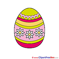 Decorated Egg Easter Clip Art for free