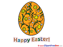 Decorated Egg free Illustration Easter