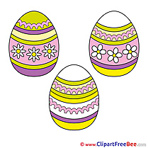 Easter Eggs Illustrations for free