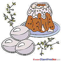 Pie Cake Cliparts Easter for free