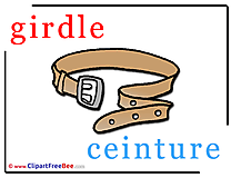 Girdle Ceinture Alphabet free Images download
