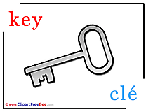 Key Cle Alphabet download Illustration