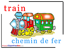 Train Chemin de Fer free Illustration Alphabet