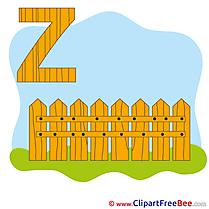 Z Zaun Clip Art download Alphabet