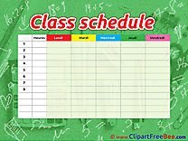 Math Class Schedule Pics free download Image