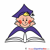 Baby Pupil Book Clip Art download First Day at School