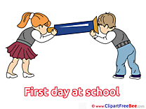 Children Pics First Day at School free Image