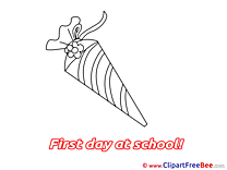 Cone download Clipart First Day at School Cliparts