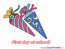 Drawing Cones download Clipart First Day at School Cliparts