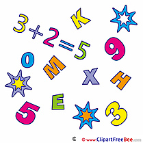 Equation Arithmetic Pics First Day at School free Cliparts
