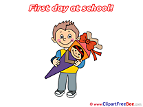 Gift Boy Pics First Day at School free Image