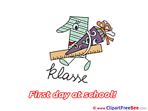 Number 1 Ruler Clip Art download First Day at School