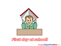 Pupil Book printable First Day at School Images