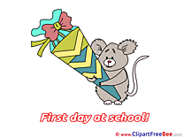 Rat Cone download Clipart First Day at School Cliparts
