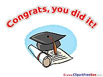 Academic Cap Clipart Graduation free Images