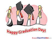Academic Caps Clipart Graduation Illustrations