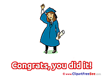 Baccalaureate free Illustration Graduation