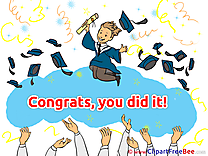 Baccalaureate Graduation Illustrations for free