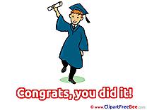 Bachelor Graduation Illustrations for free