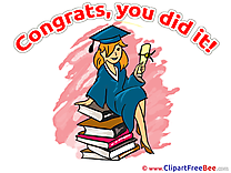 Books Girl Pics Graduation free Cliparts