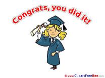 Congratulations free Cliparts Graduation