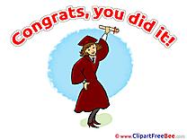Congratulations Girl Cliparts Graduation for free
