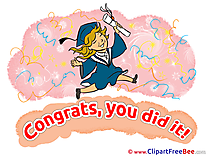 Girl Graduation download Illustration