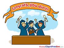 Guitar Congratulations free Illustration Graduation