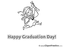 Happy Graduation Day Cliparts for free