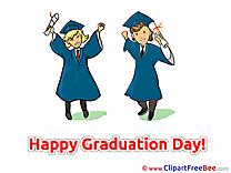 Leaving School free Illustration Graduation