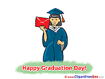 Letter Girl free Cliparts Graduation
