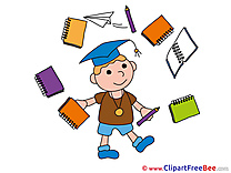 Notepad Bachelor free Illustration Graduation
