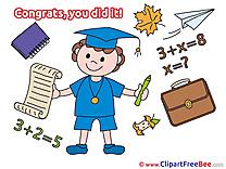 Student Boy Graduation Clip Art for free