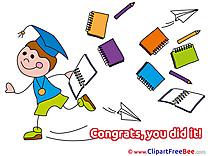 Student School Supplies download Clipart Graduation Cliparts