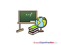 Board Cliparts School for free