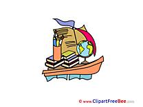Boat School Illustrations for free