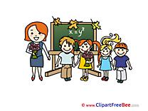 Teacher Kids Classroom Clip Art download School