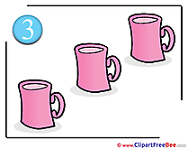Three Cups Pics School free Image
