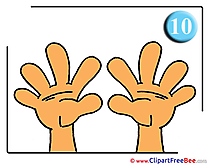 Two Hands printable School Images