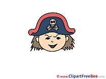 Free Pirate Illustration Emotions