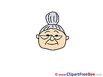 Grandma free Cliparts Emotions