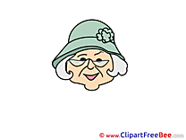 Grandmother free Illustration Emotions