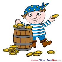 Barrel Money Pirate free Cliparts Fairy Tale